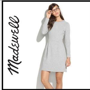 Madewell grey long sleeve Sweatshirt dress size M
